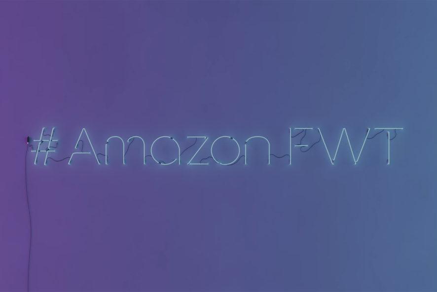 Amazon FWT NEWS Amazon Fashion Week TOKYO PROMOTION MOVIE