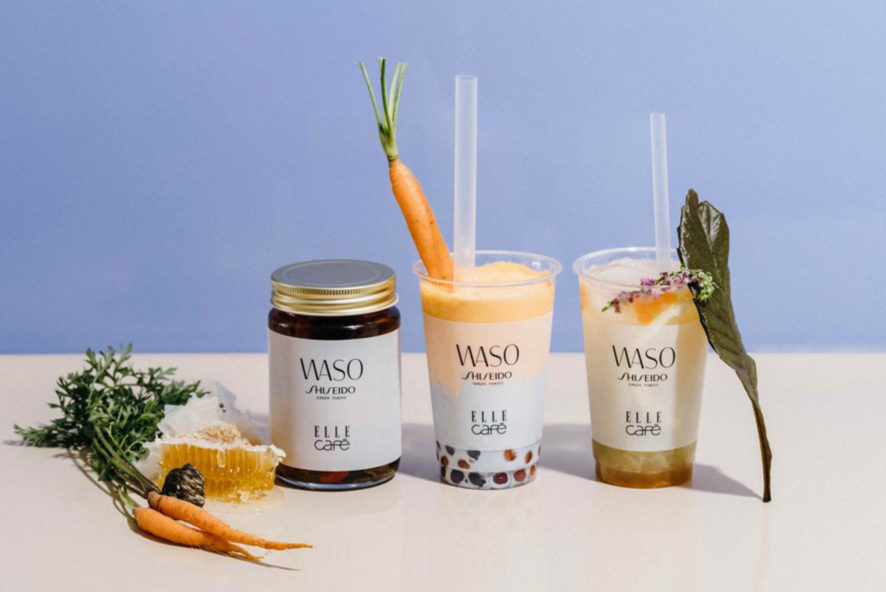 """ELLE café NEWS SHISEIDO new skincare line collaborated with """"WASO"""""""
